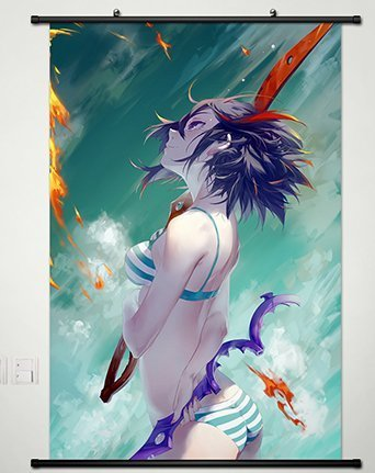 Home Decor Japanese Anime Kill la Kill Matoi Ryuko Poster Wa