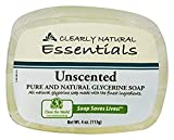 Best Glycerin Soaps - Clearly Natural Glycerin Bar Soap, Unscented, 4oz Bar Review