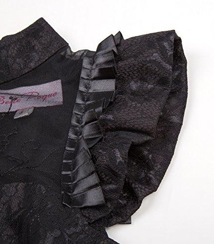 Kleid Lang Damen Corsagenkleid schwarz Bp380 Schwarz Steampunk Gothic 1 Poque Kleid Belle qxwYAXgX