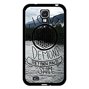 Stylish Durable Pattern Bring Me The Horizon Phone Case Cover for Samsung Galaxy S4 I9500 Sheffield Yorkshire Music Design