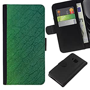 JackGot ( Semplice modello 27 ) HTC One M7 la tarjeta de Crédito Slots PU Funda de cuero Monedero caso cubierta de piel
