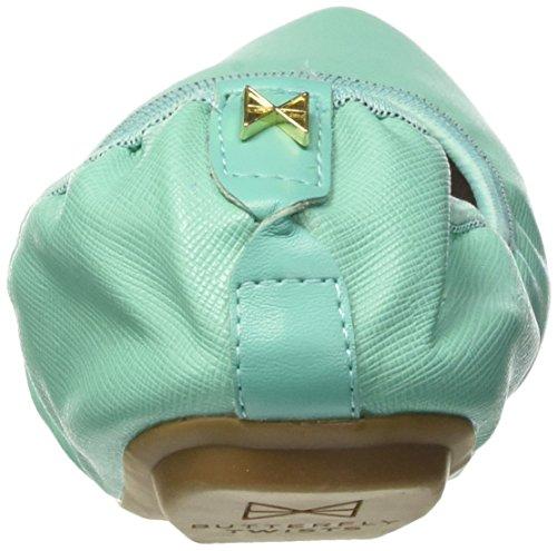 Ballerines 074 Ii Twists Femme Turquoise Butterfly aqua Bout Fermé Janey tBwzxxHqU