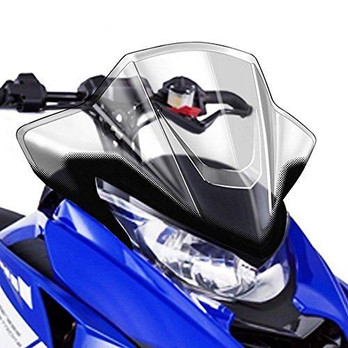 Yamaha Snowmobile Windshield - Yamaha SR Viper Medium Sport Snowmobile Windshield Clear 20.4