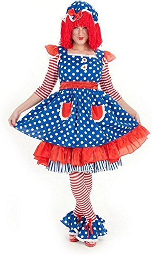 Work Appropriate Halloween Costumes For Women - Princess Paradise Women's Raggedy Ann Deluxe Costume, As Shown, Large