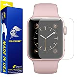 ArmorSuit Military Shield Full Coverage Anti-Glare Screen Protector for Apple Watch 2 (38mm) – 2 Pack
