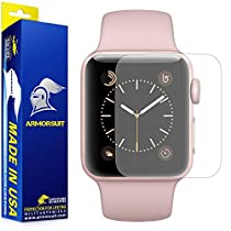 ArmorSuit Military Shield Full Coverage Anti-Glare Screen Protector for Apple Watch 2 (38mm) - 2 Pack