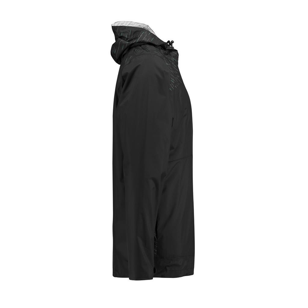 Mercedes Benz AMG Petronas Formula 1 Mens Black Rain Jacket