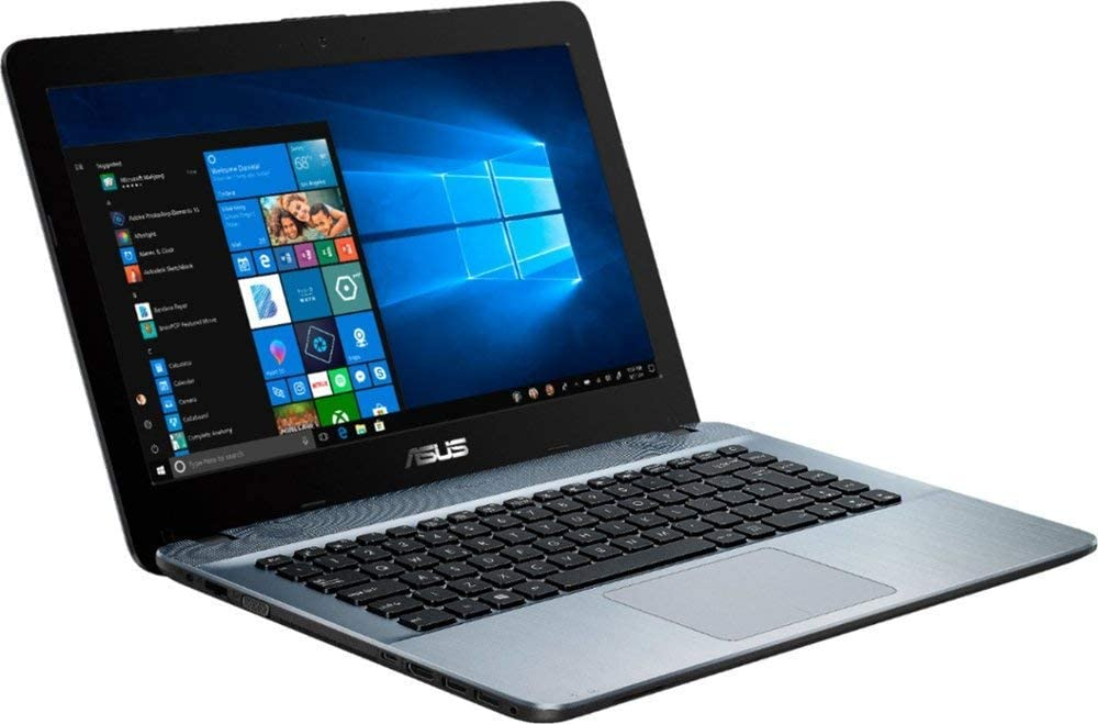"ASUS 14 Laptop, 2019 Flagship 14"" HD Business Computer, AMD Core A6-9225 up to 3GHz 4GB DDR4 500GB HDD USB 3.1 Type-C HDMI HD Webcam 802.11bgn Bluetooth 4.0 Win 10"