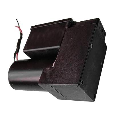 Almencla Mini Pompe à Vide Pompe à Diaphragme Silencieuse DC 12V