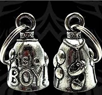GUARDIAN BELL ITu0027S A BOY For Harley Davidson Baby Shower Gift Gremlin Mod  Dyna Motorcycle Fxr