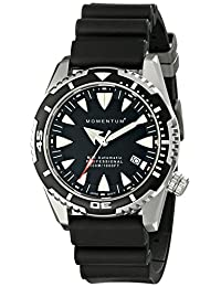 Momentum 1M-DV30B1B Men's M30 Automatic Sport Wrist Watches, Black