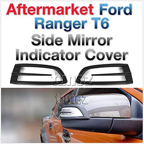 Tunez FRM03MK2 Seitenspiegelschutz fü r Ford Ranger T6 MK1 MK2, Mattschwarz