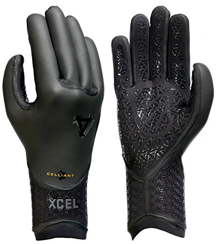 Xcel Drylock 5 Finger Glove Black