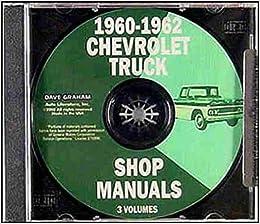1960 1961 1962 chevrolet pickup, van & truck factory repair shop & service  manual cd includes: suburban, c14, c15, k14, c25, k25, c36, c40, 1/2-ton,  3/4-ton