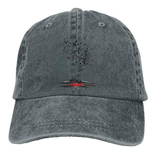 Hats Men Cowgirl for Disc Hat Cowboy Sport Skull DEFFWB Denim Women Cap Music zq4a4xP