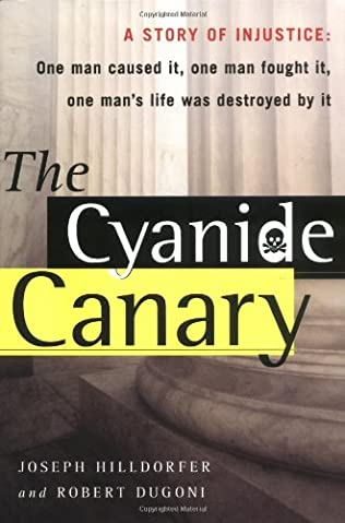 book cover of The Cyanide Canary