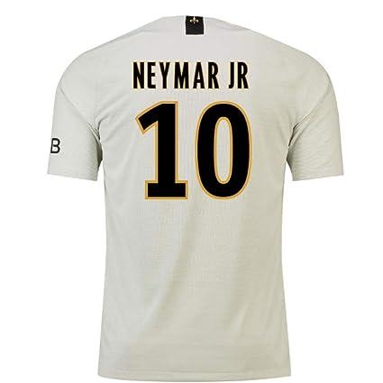 4e274d3937e6 Amazon.com   2018-19 PSG Away Football Soccer T-Shirt Jersey (Neymar ...
