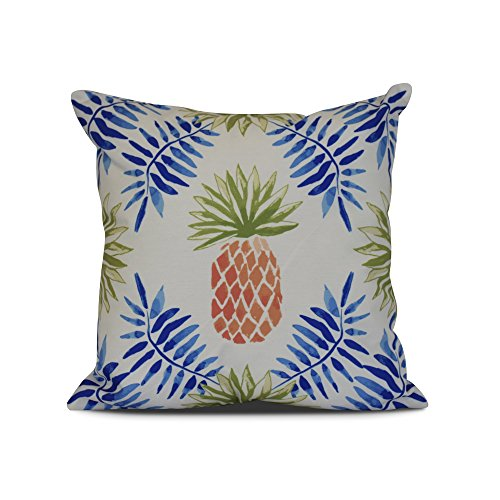 Spike Geometric (E by design Pineapple and Spike Geometric Print Pillow, 16