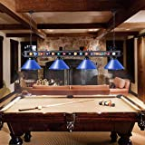 Wellmet Pool Table Light, 70 Inch Billiards