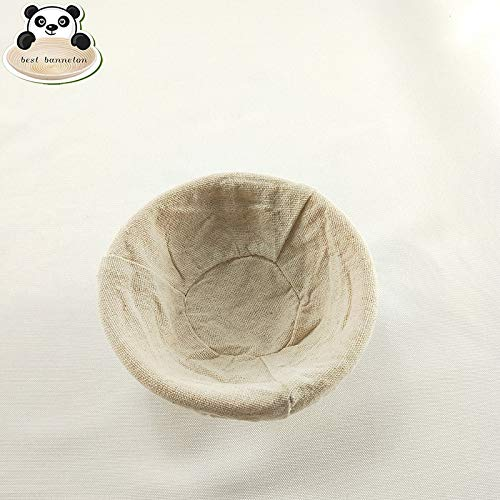 HOT- Pastry Blenders - bread fermentation basket for natural rattan bread banneton various shapes bread fermentation basket bread basket with cover - by Tini - 1 PCs