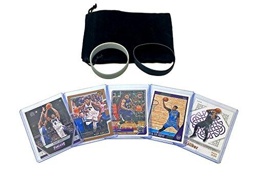 Rudy Gay Basketball Cards Assorted (5) Bundle - Sacramento Kings, San Antonio Spurs Trading Card Gift -