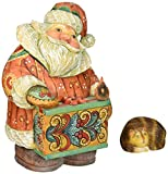 G. Debrekht Santa with Cat Box, 5""