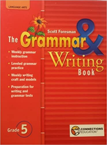 Scott Foresman Grammar And Writing Practice Book Grade 3 Answers