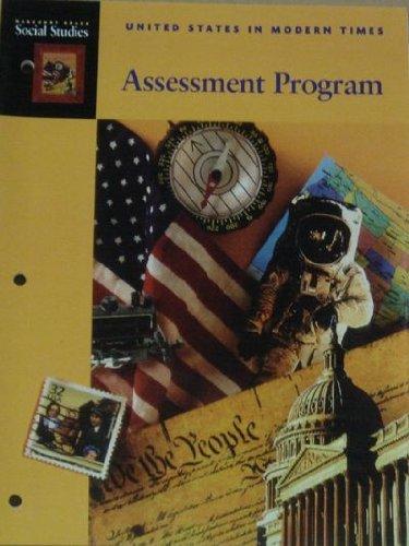United States in Modern Times: Assessment Program (Harcourt Brace Social Studies)