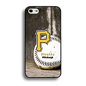 Iphone 6 Plus (5.5 Inch) Case Diamond MLB Pittsburgh Pirates Baseball Team Logo Sports Designs Hard Plastic Tpu Style Durable Protection Phone Accessories Case Cover for Men