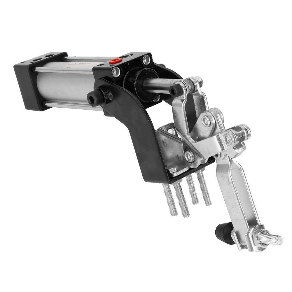 Acogedor 1/8'' Pneumatic Clamp,Professional Pneumatic Clamp Vertical Hold Down Clamp for Positioning,Anti-Oxidation, Wear-Resistant,Labor and Energy Saving,Improve Production Efficiency by Acogedor (Image #4)