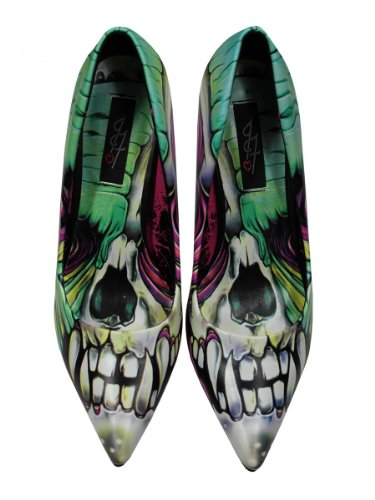 Iron Fist Skin Crawler Chaussures à Talon Haut (Multicolore) - 37 EU