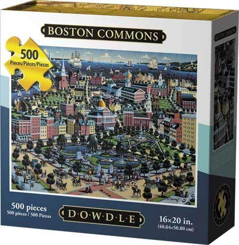 Dowdle Jigsaw Puzzle - Boston Common - 500 - Puzzle Boston