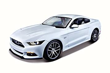 2015 ford mustang gt white maisto 38133 118 scale diecast model - Ford Mustang Gt 2015 White
