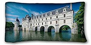 Majestic Architecture History Beauty Zippered Pillow Case 20x30 (Twin sides)