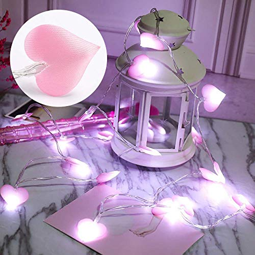 Pink Heart Led Lights in US - 2