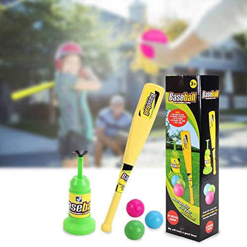 Baseball Trainer Practice Toy, Vpower Automatic Adjustable Launcher Baseball Educational Leisure Physical Training Team Sports Toys For Fun Family Home&Outdoor Game Toys by Vpower® (Image #5)