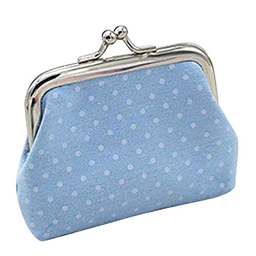 Coin Clearance Wallet Noopvan Bag Wallet Handbag Purse Holder Mighty 2018 Wallet Small Clutch Womens Blue nSZ01Zwq