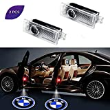 2 Pack Car Door Lights Projector Courtesy LED Welcome Laser Logo Light Auto Logo Ghost Shadow Projector compatible with BMW Series