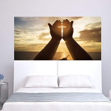 TONGTONG Gesù Signore Dio Benedica Wall Decalcomanie, Camera ...
