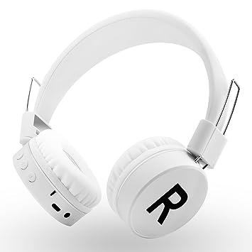 REETEC Kanen V4.0 - Auriculares inalámbricos con micrófono y Control de Volumen para iPhone, iPad, portátiles, tabletas, PC y Mac para Toda la Temporada ...