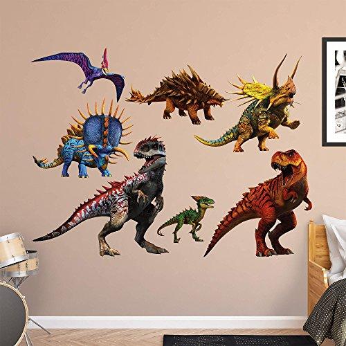 Vinyl Fathead (Fathead Peel and Stick Decals NBC-Uni Jurassic World Hybrid Dinosaurs RealBig Collection)