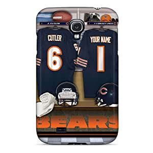 New Diy Design Chicago Bears Uniform For Galaxy S4 Cases Comfortable For Lovers And Friends For Christmas Gifts