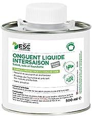 """ESC - Onguent liquide - """"PROTECTION"""" prairies humides. + pinceau - pour Sabot de Cheval. 500 ml - à l'Huile de Cade."""