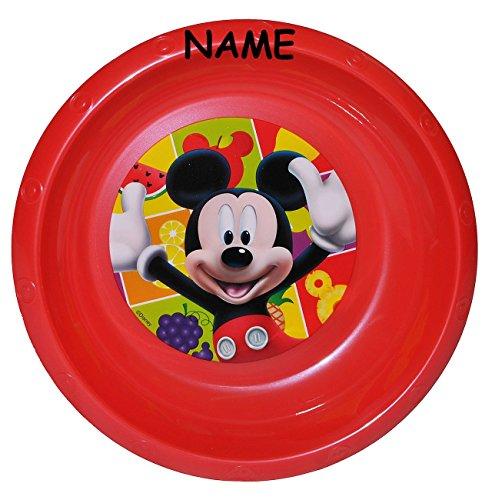 Suppenteller / Suppenschüssel / Müslischale - incl. Namen - Kinderteller