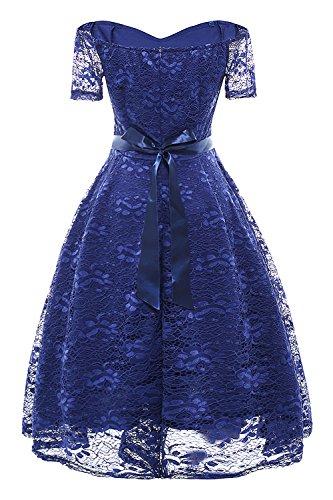Babyonlinedress Estivo 3xlBlu s Vestito DonnaPizzo Vintage Donna Cerimonia Elegante Da HWD2YeE9I