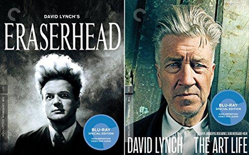 David Lynch Criterion Collection - Eraserhead & David Lynch: The Art Life 2-Blu-ray Bundle