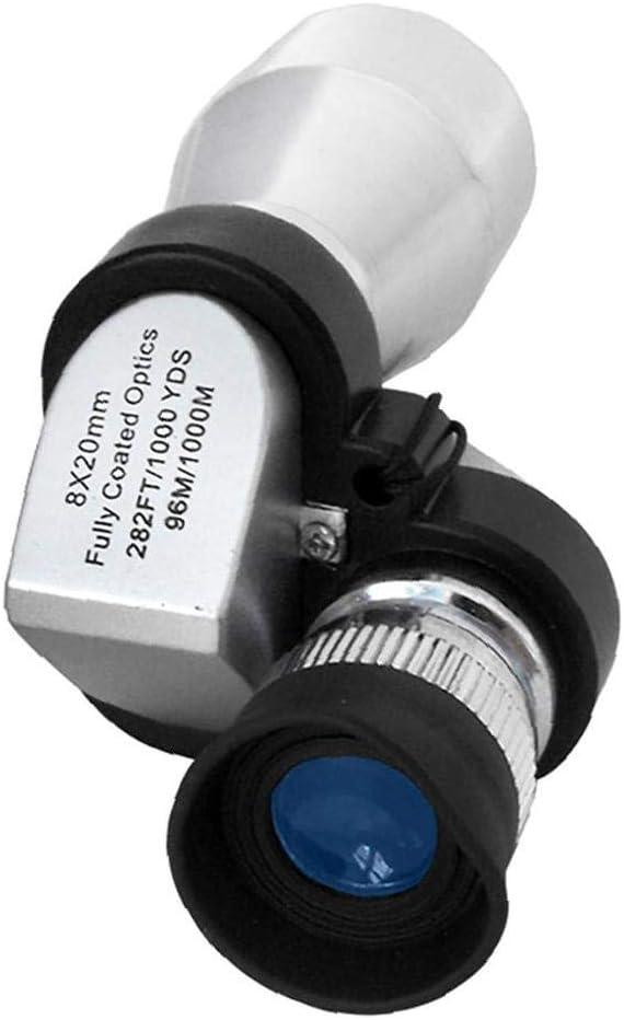 1pc telescopio monocular HD port/átil al Aire Libre telescopio monocular de visi/ón Nocturna monocular Crank