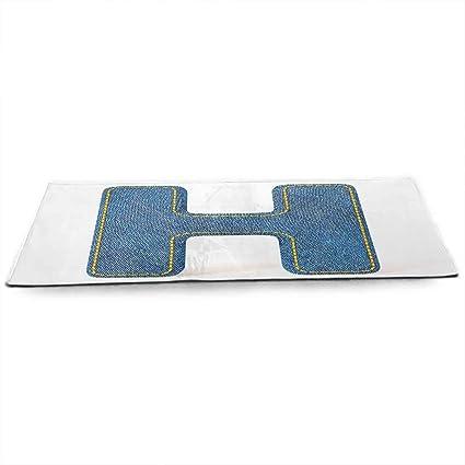 Amazon.com : WinfreyDecor Letter H Eco Friendly Yoga Mat ...