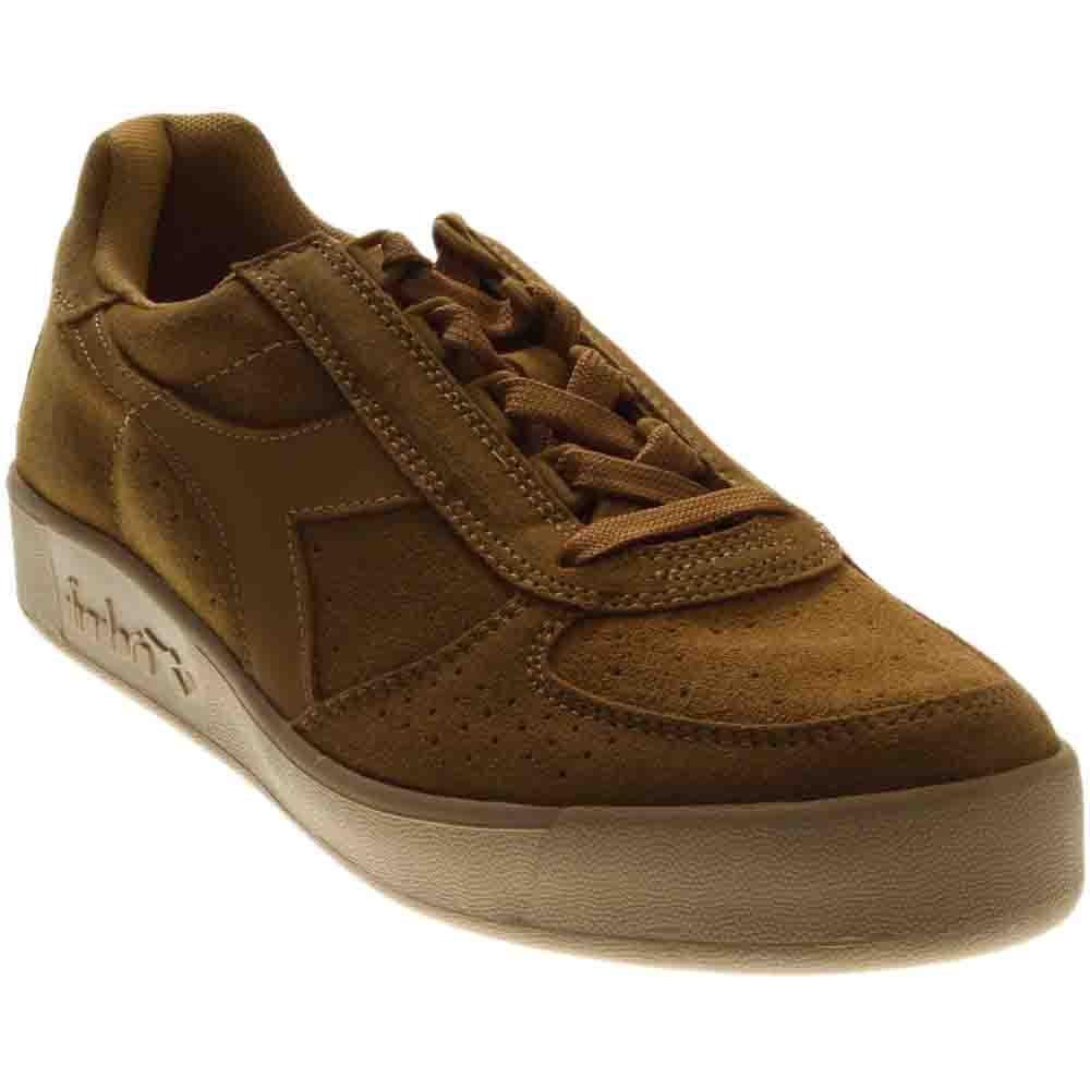 Diadora B.Elite Suede Skateboarding Shoe, Beige spelt, 9.5 M US by Diadora