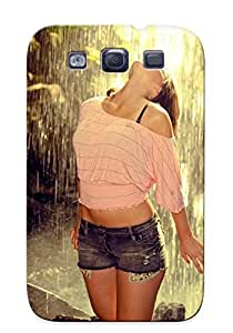 Graceyou Design High Quality Girl At The Forest Waterfall Cover Case With Ellent Style For Galaxy S3(nice Gift For Christmas)